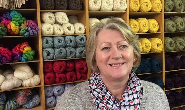 Kath Hume, The Wensleydale Longwool Sheep Shop