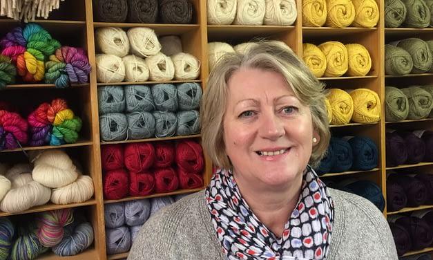 Kath Hume, The Wensleydale Longwool Sheep Shop